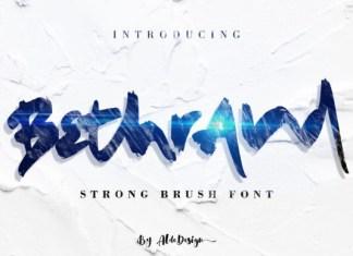 Bethrand  Font