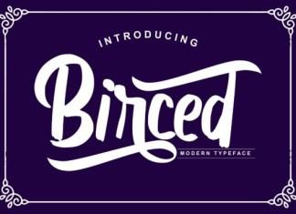 Birced  Font