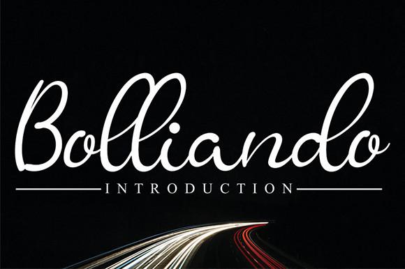 Bolliando Font