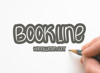 Book Line Font