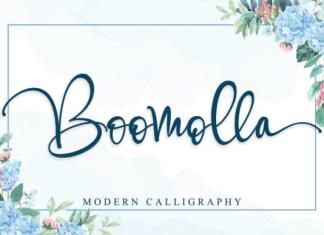 Boomolla  Font