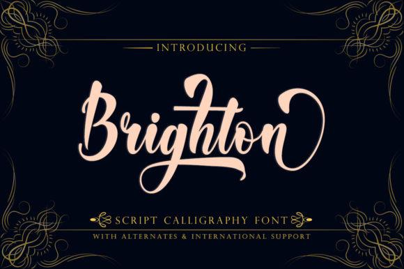Brighton  Font