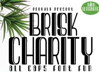 Brisk Charity Font