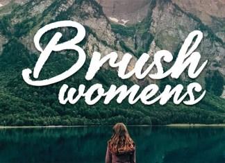 Brush Womens Font