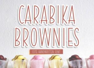Carabika Brownies Font