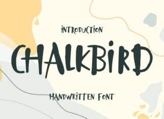 Chalkbird Font