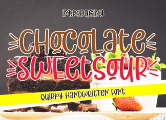 Chocolate Sweetsour Font