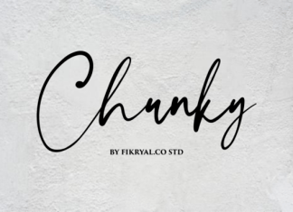 Chunky Font