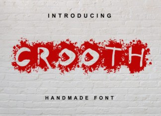 Crooth Font