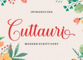 Cuttauri Font
