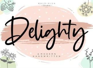 Delighty  Font
