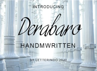 Derabaro Font