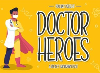 Doctor Heroes Font