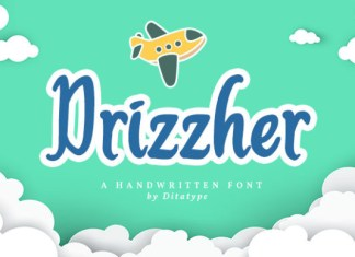 Drizzher  Font