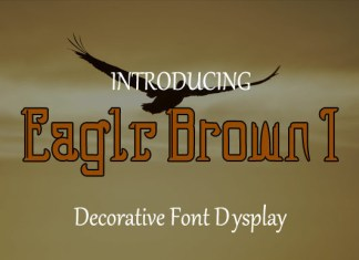 Eagle Brown 1 Font