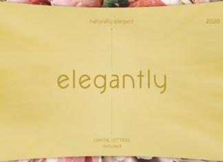 Elegantly Font