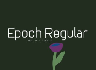 Epoch Regular  Font