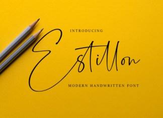 Estillon Font