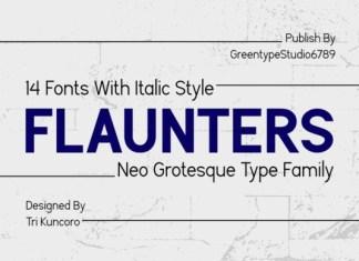 Flaunters Font