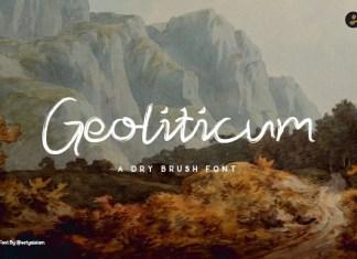Geoliticum Font