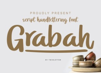 Grabah Font