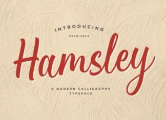 Hamsley Font