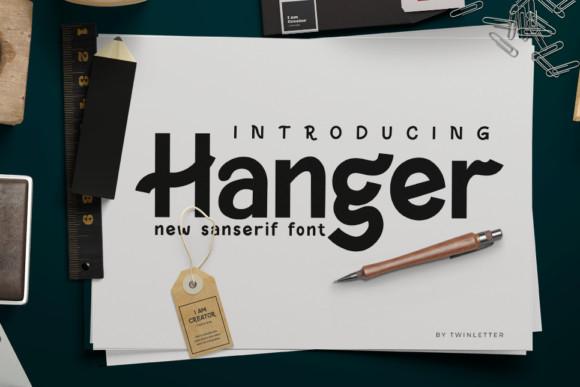 Hanger Font