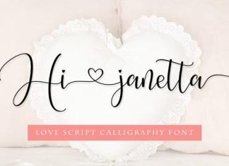 Hi Janetta Font