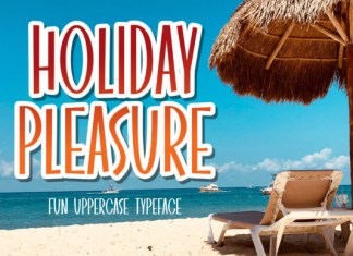 Holiday Pleasure Font