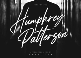 Humprey Patterson Font