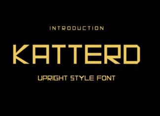 Katterd Font