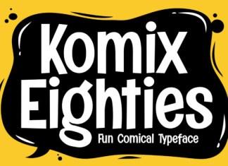 Komix Eighties Font