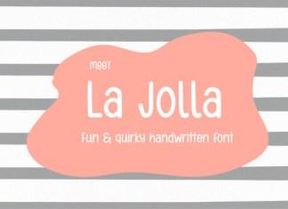 La Jolla Font