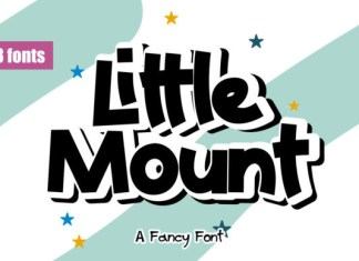 Little Mount Font
