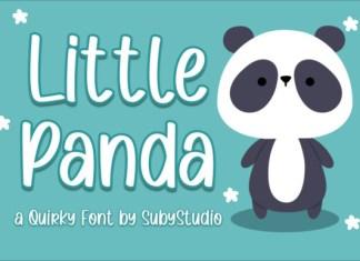 Little Panda Font