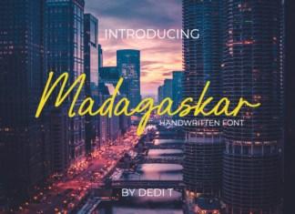 Madagaskar  Font