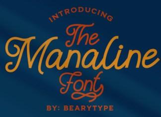 Manaline Font