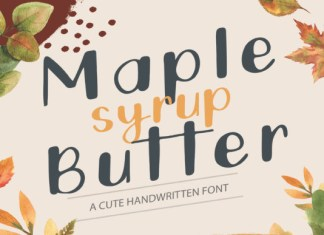 Maple Butter  Font