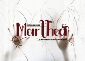 Marthea  Font