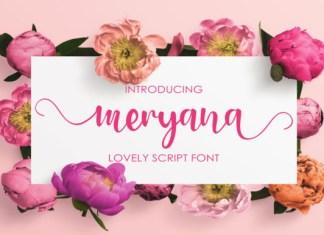 Meryana Font