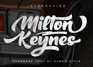 Milton Keynes Font