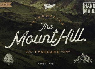 MountHill Font