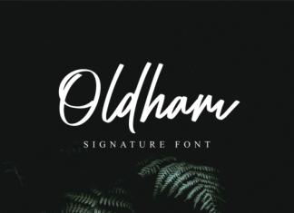 Oldham  Font