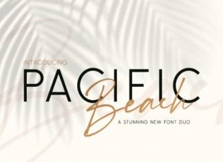 Pacific Beach Font