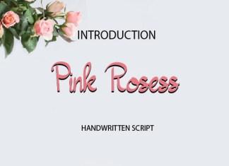 Pink Rosess Font