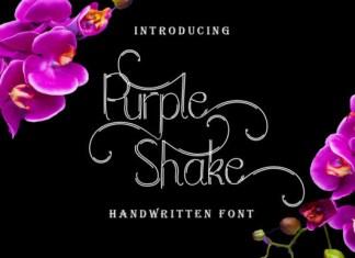 Purple Shake Font