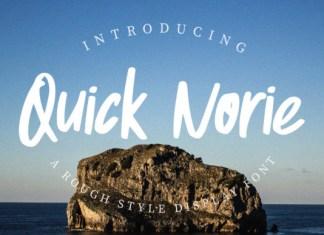 Quick Norie Font