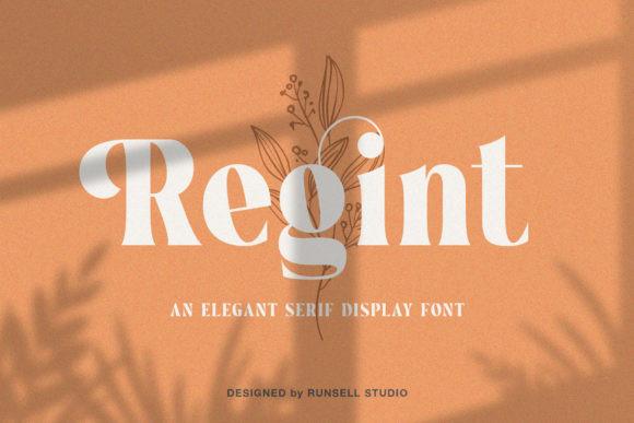 Regint  Font