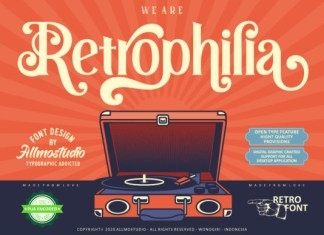 Retrophilia Font