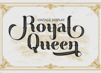 Royal Queen Font